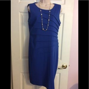 Calvin Klein royal blue dress